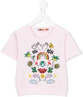 Anne Kurris - Sake Paradiso sweatshirt - kids - Cotton/Spandex/Elastane - 4 yrs