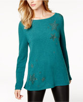 Charter Club Embellished Cashmere Sweater, Created for Macy's