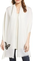 Badgley Mischka Women's Butterfly Wrap
