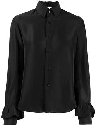 Comme des Garcons layered collar shirt