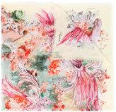 Roberto Cavalli multi-print scarf