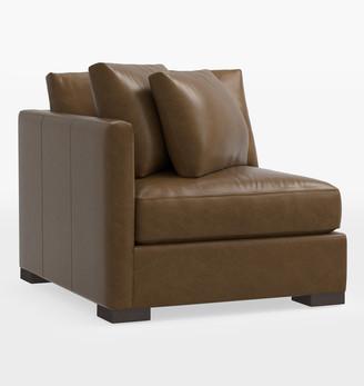Rejuvenation Wrenton Classic Leather Sectional Left Arm Chair