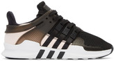 adidas Black and White Eqt Support Adv Sneakers