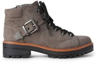Indigo Rd Ossido Grey Ibis Lace-Up Boots