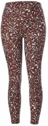 Betsey Johnson Women's High Rise 7/8 Length Legging