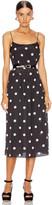 Sandy Liang Sans Dress in Pearl Dot   FWRD