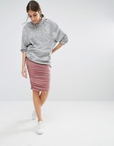 Glamorous Ruched Skirt