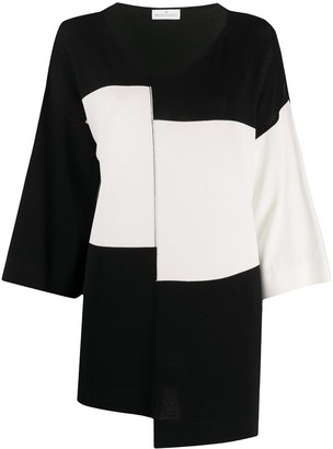 Bruno Manetti Monochrome Asymmetric Top