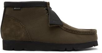 Clarks Khaki Gore-Tex Wallabee Desert Boots