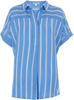 Whistles Ellen Stripe Casual Shirt