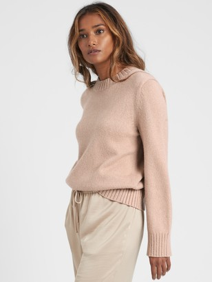 Banana Republic Cotton-Blend Bell-Sleeve Sweater