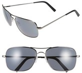 Randolph Engineering Men's 'Archer' 63Mm Polarized Sunglasses - Dark Ruthenium/ Gray Pc