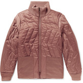 Saturdays NYC Nazar Quilted Shell Jacket - Bronze