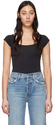 Rag & Bone Black Nadia Bodysuit