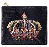 Forest of Chintz Black Monarchy Crossbody