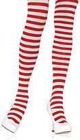 Leg Avenue Red & White Stripe Tights