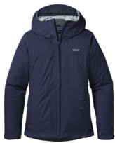 Patagonia Navy Blue Womens Torrentshell Jacket - XS .