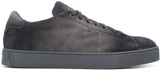 Santoni Faded Wash Sneakers