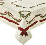 North Pole Trading Co Royal Holiday Tablecloth