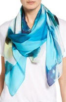 Nordstrom Women's Grande Dame Blossoms Silk Scarf