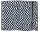 Serena & Lily Brahms Mount Herringbone Bed Blanket - Indigo