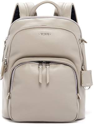 Tumi Small Leather Backpack