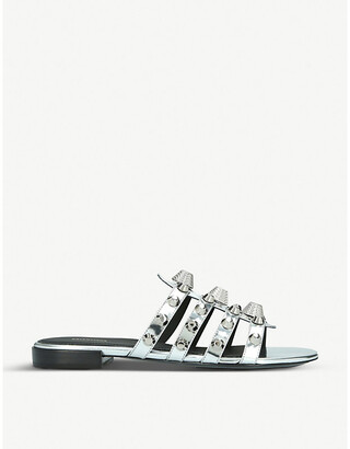 Balenciaga Gwen leather sandals