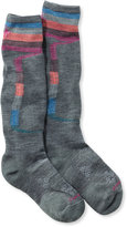 L.L. Bean SmartWool PhD Ski Socks, Light Elite Pattern