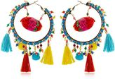 Rosantica Yucatan Pompom Earrings