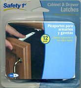 Safety 1st Safety 1 St Cabinet & Drawer Latches 12 Pack
