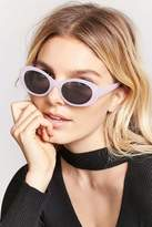 Forever 21 FOREVER 21+ Small Oval Sunglasses
