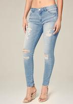Bebe Jessica Heartbreaker Jeans