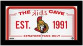 "Steiner Sports Ottawa Senators 10"" x 20"" Kids Cave Sign"