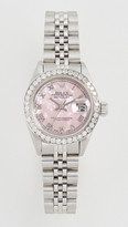 Rolex Ladies Datejust Pink Mop Roman, Diamond Bezel, Jubilee Band