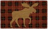 "Mohawk Home Mohawk® Home Moose Check Plaid Coir Doormat - 18"" x 30"""