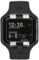 Nixon Men's 'Ultratide LTD SW, Vader' Japanese Automatic Rubber and Silicone Casual Watch, Color:Black (Model: A476SW-2244-00)