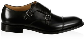 Church's Detroit Double Leather Monk Strap Shoes