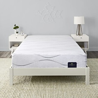 "Serta Carriage Hill 11"" Medium Memory Foam Mattress and Box Spring Mattress Size: Full, Box Spring Height: Low Profile (5"")"