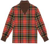 Gucci Check wool turtleneck shirt
