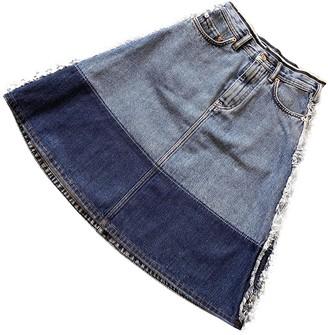 Acne Studios Blue Denim - Jeans Skirt for Women