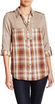 Angie Mixed Print Shirt