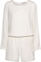 Tart Collections Hensley perforated crepe playsuit