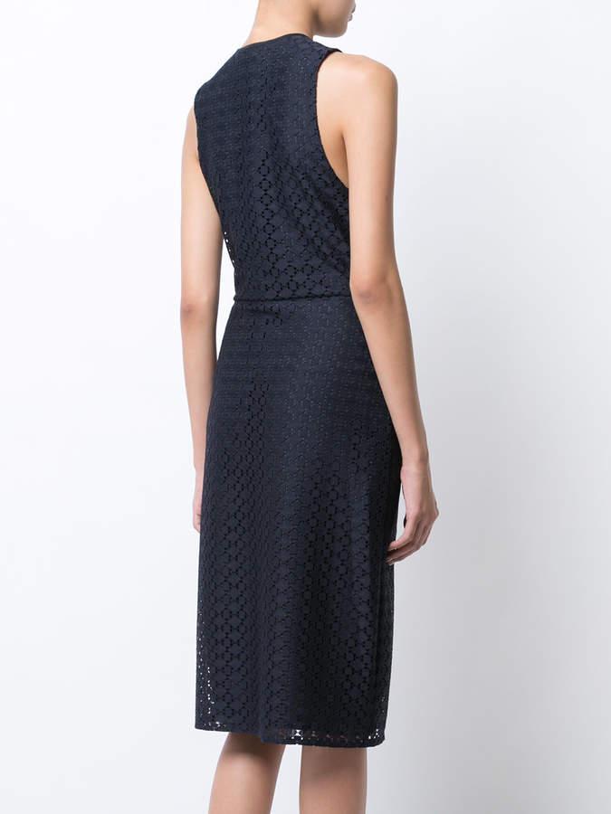 Jenni Kayne tied neck patterned dress
