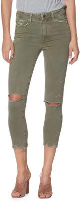 Paige Hoxton Slim Crop Jeans