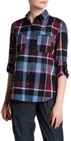 Joe Fresh Long Sleeve Plaid Shirt