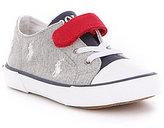 Polo Ralph Lauren Boy's Kody Stretch Hook and Loop Sneakers