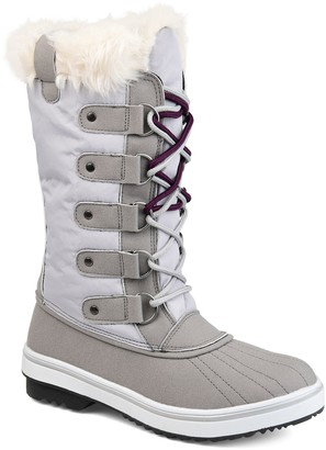 Journee Collection Frost Women's Faux-Fur Tall Boots