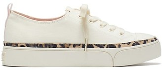 Kate Spade Kaia Leopard-Print Trim Sneakers