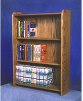 Wood Shed 300 Series 120 DVD Multimedia Storage Rack