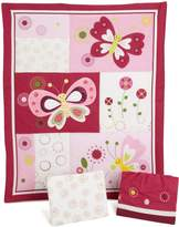 Bedtime Originals Pink Butterfly 3-piece Bedding Set